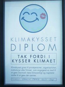 Dansk tang diplom - klimakysset