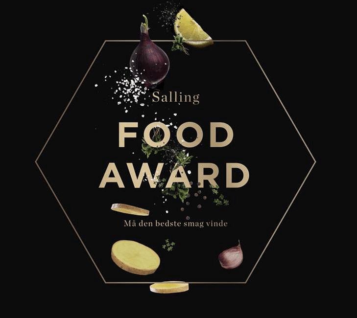 Salling food award logo