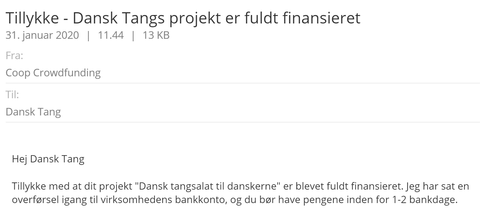 Coop crowdfunding!