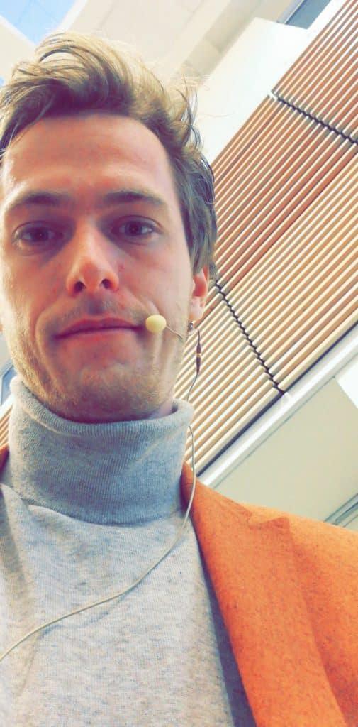 Simon Weber Marcussen foredragsholder fra Dansk Tang
