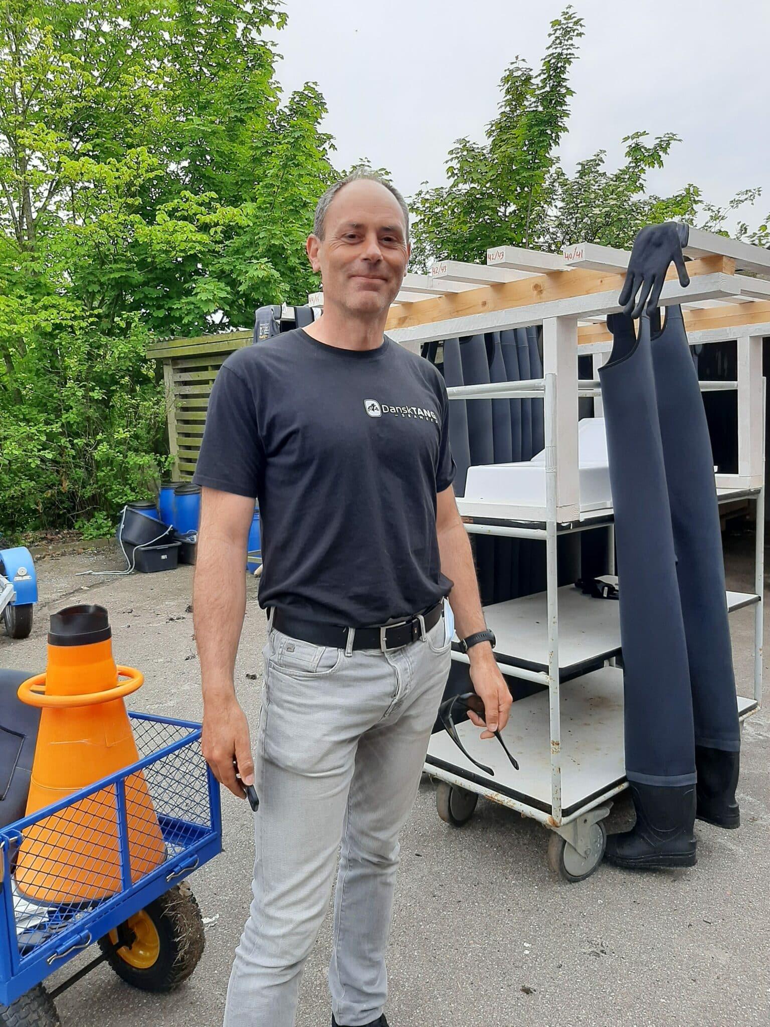 Claus Falconi ansat i Dansk Tang